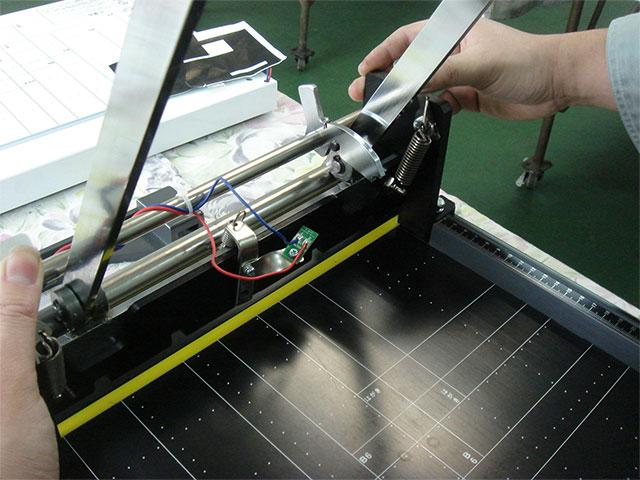 刃物の交換手順